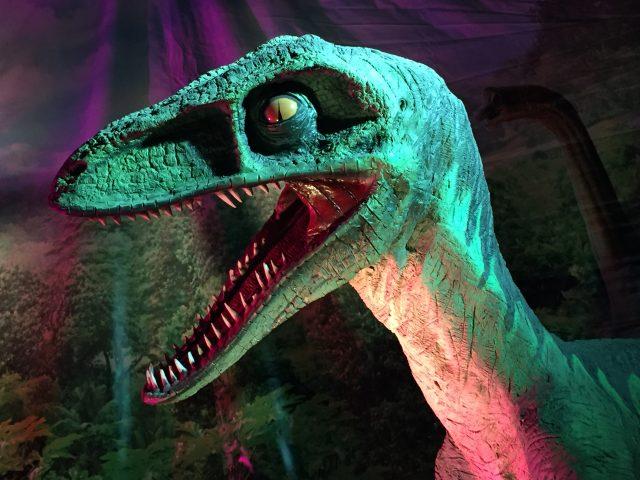 Dinosaurio de la exposición Dino XXL