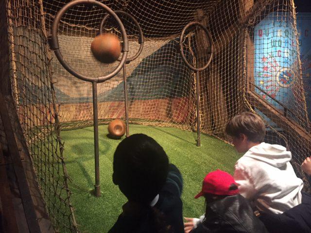 área de juego de Quidditch
